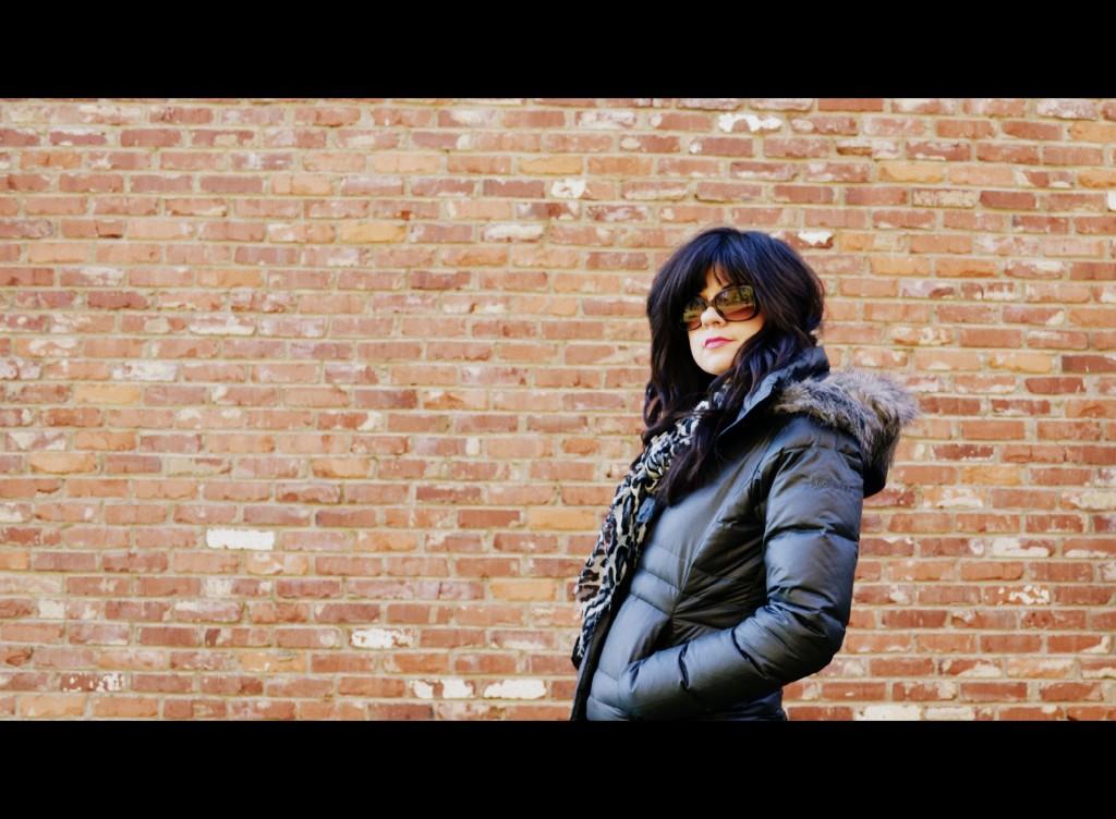 puffy jacket, jacket, coat, columbia