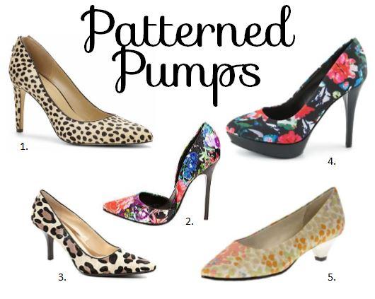 patterned pumps, leopard heels, floral patterned heels, shoes, spring shoes, colorful shoes, colorful heels