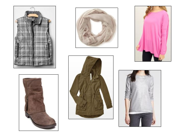 shoes, coats, what to wear this winter, winter wear, jackets, scarves, piko tops, fiore, banana republic, gap, belk, areo, winter outfits