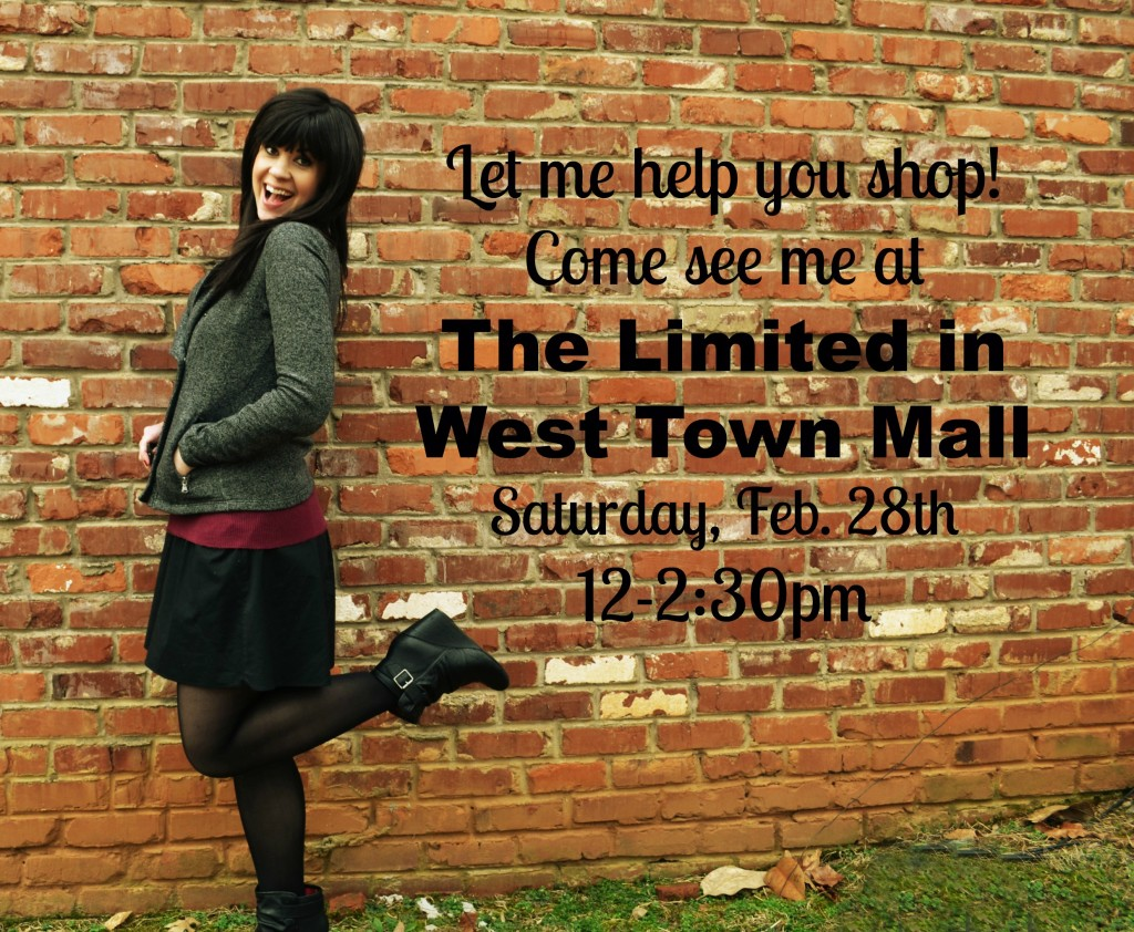 The limited, west town mall, knoxville fashion, style event, style, scandal line at the limited
