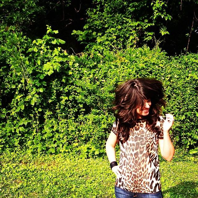 hair, hairspray, big sexy hair, product review, fashion blog, leopard top