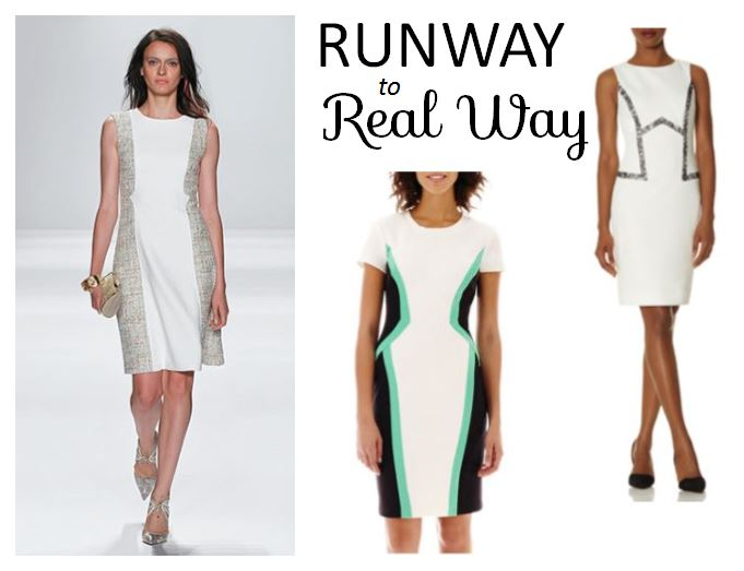 runway looks for everyday wear, how to wear what was on the runway, badgley mischka, the limited dress, scandal dress, bisou bisou, jcpenny, fashion blog, easter dress ideas, flattering dress options, how to find a dress that flatters your figure