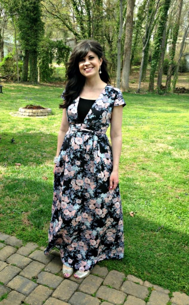 asos, floral, floral dress, spring dress, dress, easter dress, maternity dress, maternity wear, fashion blog, knoxville fashion