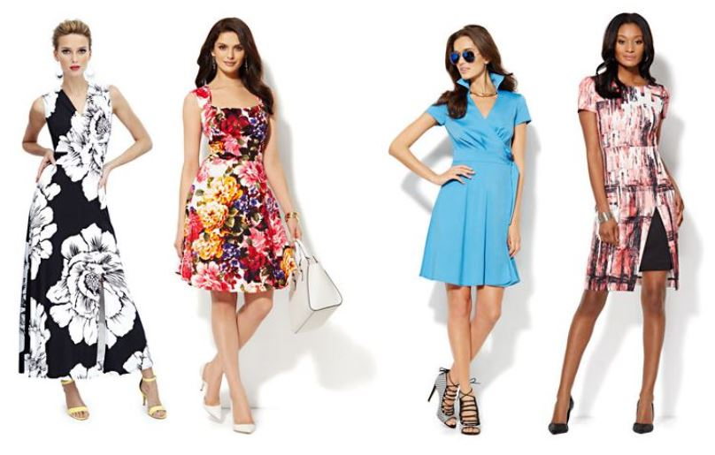 new york and company, easter dresses, dresses, west town mall, fashion blog, dress options, spring, spring dresses