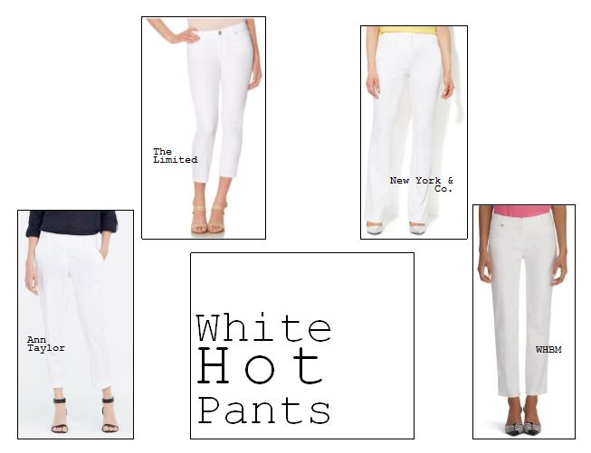new york and company, the limited, ann taylor, white pants, how to wear white pants, the limited, fashion, summer fashion, knoxville fashion
