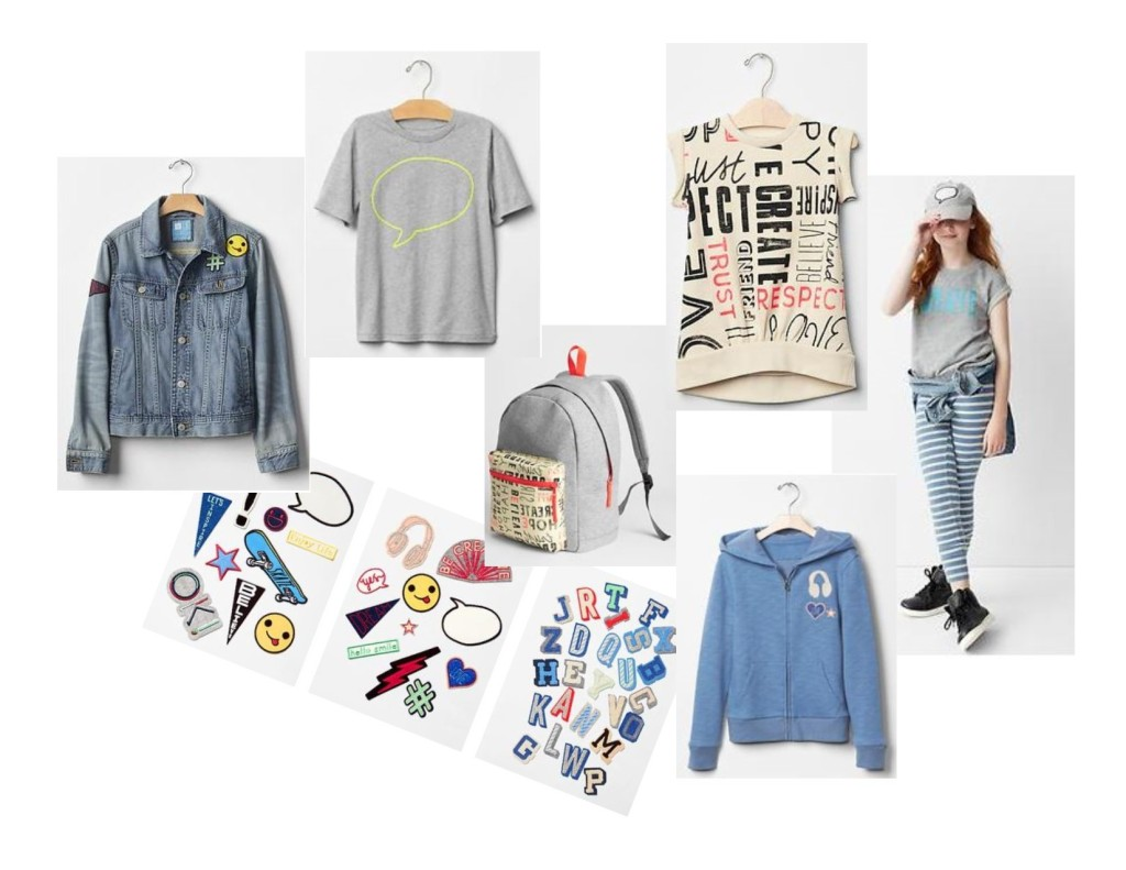 gap, girls clothes, ellen degeneres, back to school clothes, girl outfits, girl fashion, west town mall