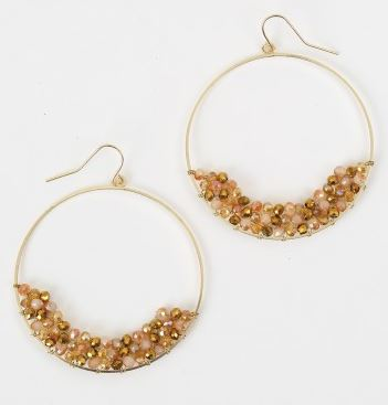 earrings, earrings for your face shape, knoxville fashion blog, west town mall, the limited, earrings from altar'd state, gold hoops, altar'd state, gold earrings