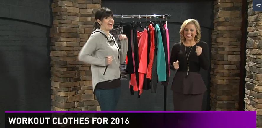 west town mall, knoxville fashion, beauty blogger, knoxville beauty blogger, wbir, knox fox mornings, dillard's, work out wear for 2016, active wear trends