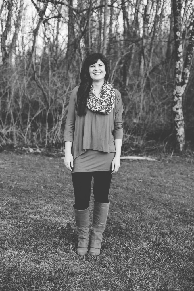 southern roots photography, brittany arnold, knoxville fashion blogger, tunic top, knoxville beauty blogger, elizabeth ogle, west town mall, ootd, winter outfit, how to wear a tunic