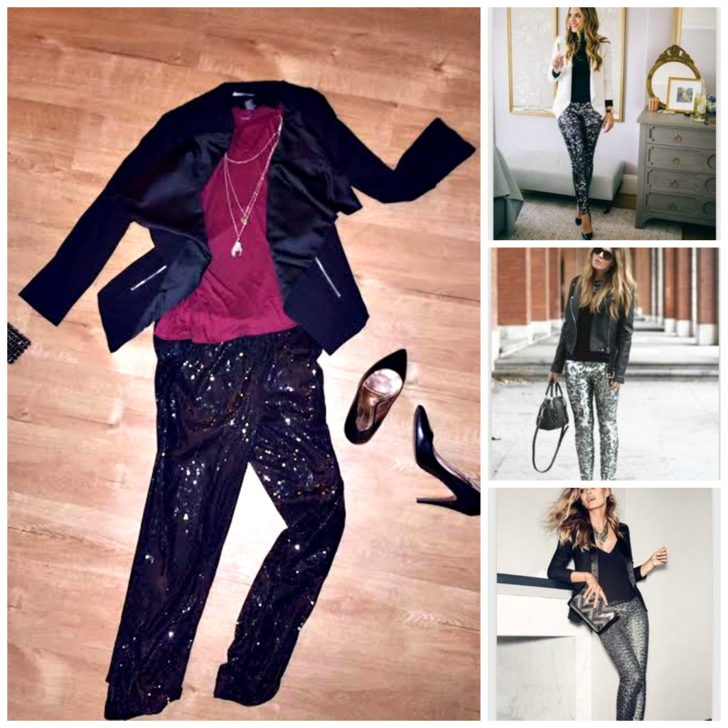sequin pants, what to wear with sequin pants, pinterest inspiration, going out outfit, ootd, knoxville fashion blogger