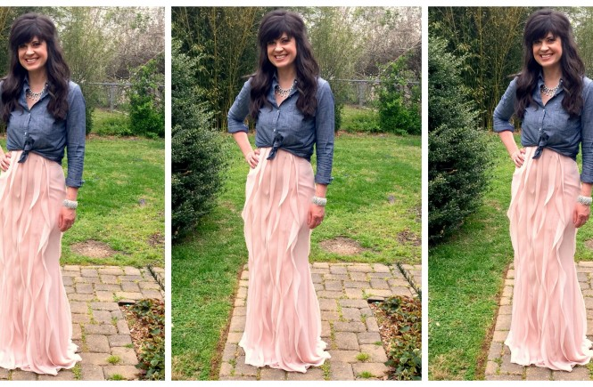 how to get more use out of a bridesmaid dress, dress, easter dress, easter 2016, knoxville fashion blogger, easter outfit, ootd, elizabeth ogle,