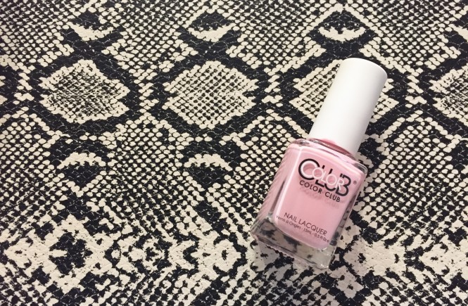 color club, this weeks nails, knxoville beauty blogger, knoxville blogger, nail polish, pink nail polish, product review