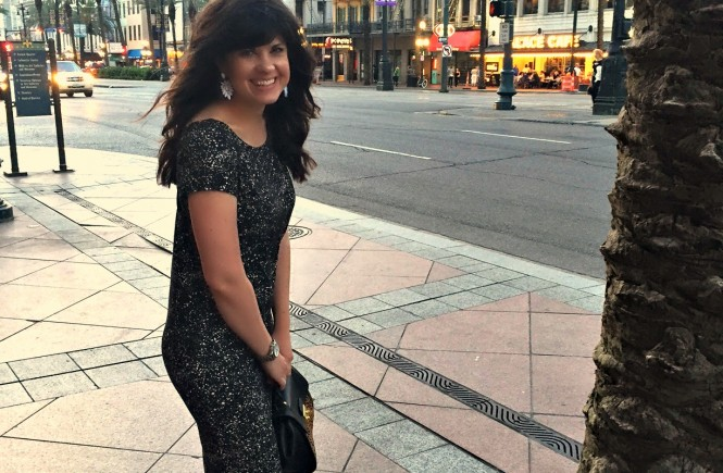 elizabeth ogle, new orleans, travel outfit, what to wear on a business trip, knoxville fashion blogger, midi dress, how to pack for a business trip