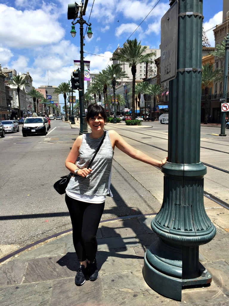 elizabeth ogle, new orleans, canal street, knoxville fashion blogger, what to wear on a work trip
