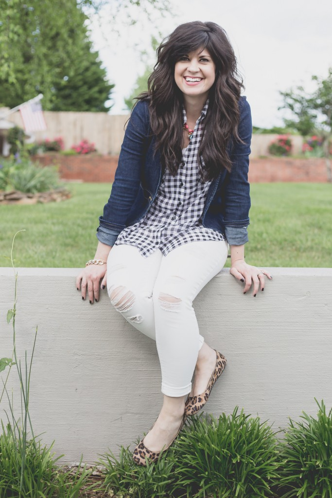 summer office outfit, summer ootd, white jeans, denim jacket outfit, ootd, office outfits for summer, how to dress for the office, casual work clothes, knoxville fashion blogger, elizabeth ogle, west town mall, popular tn fashion blogger