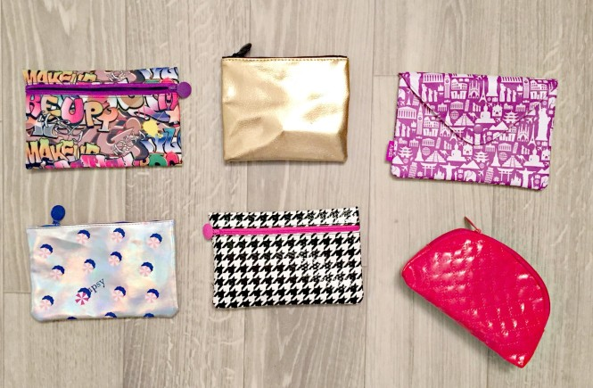 ipsy, bags, ipsy bags, knoxville beauty blogger, beauty blog, east tennessee blogger, how to stay organized, how to be organized, cute bags, cute organizational bags