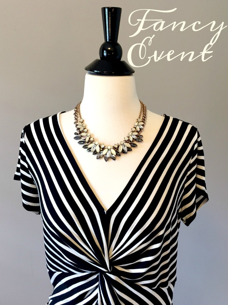 how to accessorize, how to wear one shirt multiple ways, how to accessorize for a night out, knoxville fashion, knoxville beauty blogger, knoxville blogger, tennessee blogger, style consultant for west town mall, elizabeth ogle, funny fashion blog