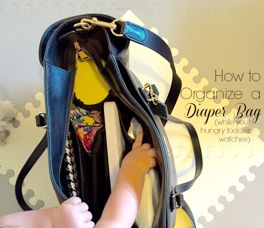 how to fill a diaper bag, diaper bag, coach diaper bag, mom life, mom blog, knoxville mom blog, knoxville fashion blog, funny fashion blog, knoxville mom, pretty diaper bag