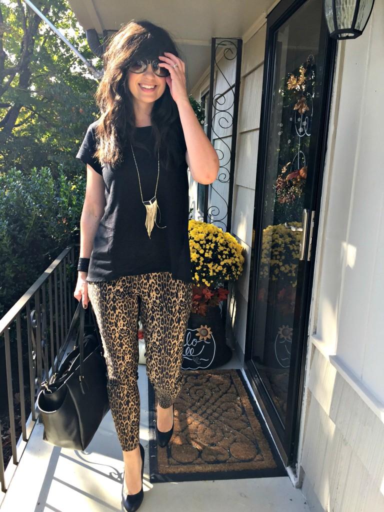 leopard pants, pants, patterned pants, the limited, elizabeth ogle style consultant, knoxville fashion, knoxville fashion blog, fashion blog, west town mall, west town mall style consultant, elizabeth ogle style consultant, elizabeth ogle