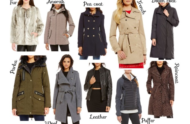 wool coat, trench coat, pea coat, rain coat, puffer jacket, performance jacket, parka, anorak, trendy coats, coat trends, coat trends for 2016, dillards, coats, west town mall, style consultant, elizabeth ogle style consultant, what coat to buy this fall, coat collection