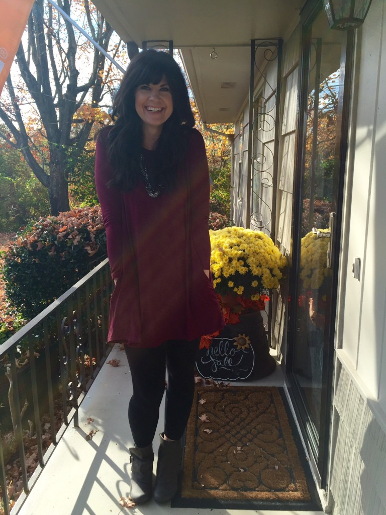 piko tunic, piko, fall fashion, fiore boutique, west town mall, piko with pockets, how to wear a piko tunic, how to wear a piko, style consultant, elizabeth ogle, ootd
