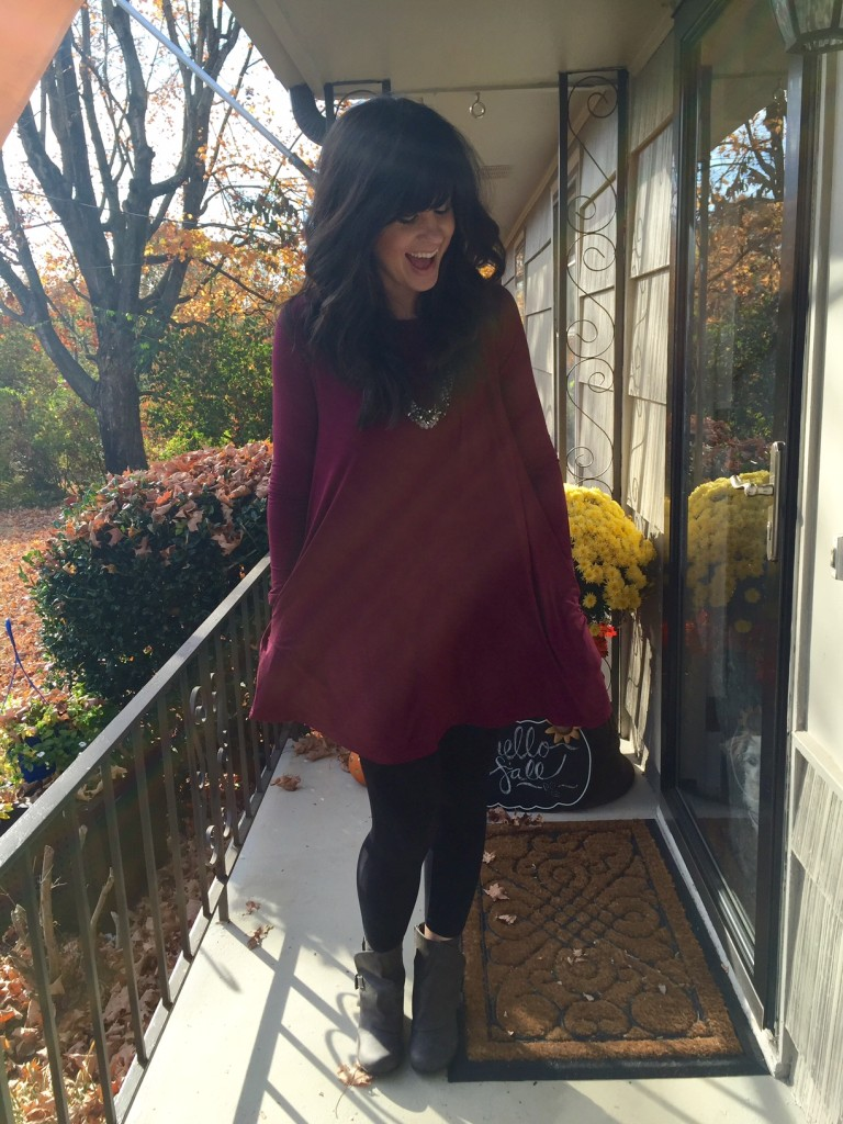 piko tunic, piko, fall fashion, fiore boutique, west town mall, piko with pockets, how to wear a piko tunic, how to wear a piko, style consultant, elizabeth ogle