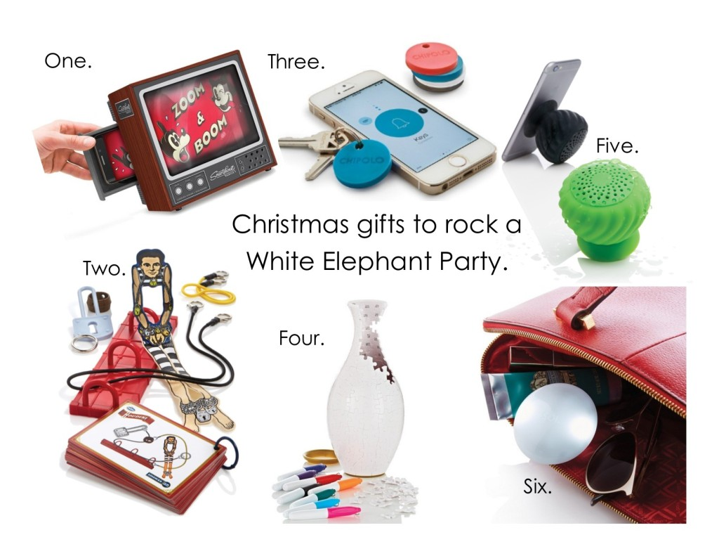 Gifts that Will Rock a White Elephant Party | the Spiff