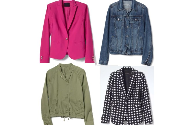 west town mall, banana republic jackets, pink blazer, patterned blazer, jean jacket from Gap, GAP jackets, green jacket, what to wear with a blazer, what to wear with a denim jacket, jackets, knoxville fashion, knoxville fashion blogger, west town mall, west town mall style, spring style