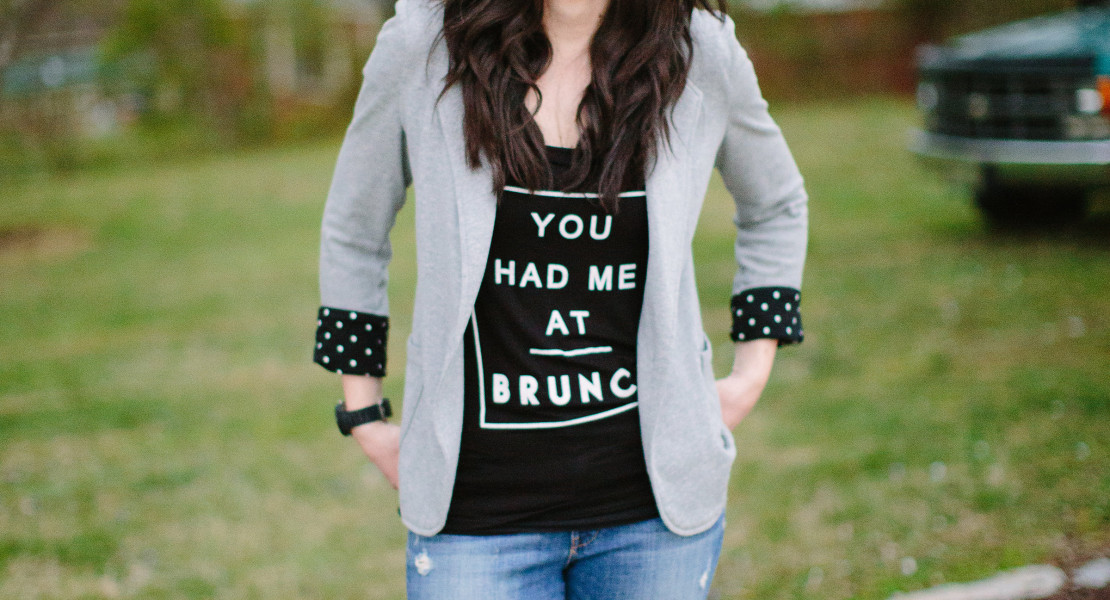 blazer and jeans, how to style a blazer and jeans, knoxville fashion, knoxville fashion blogger, elizabeth ogle, what to wear to brunch, what to wear with a blazer and jeans