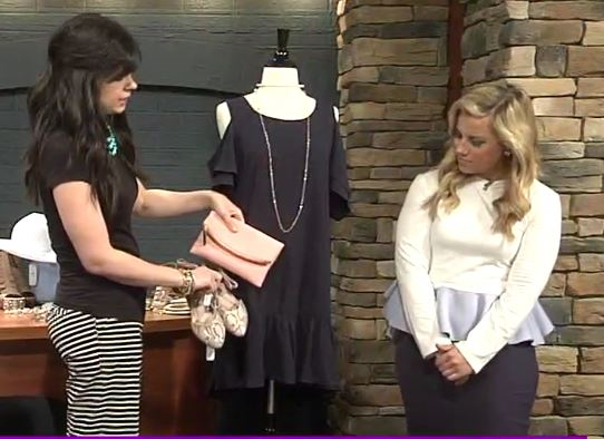 charming charlie, west town mall, 10 news this morning, beauty blogger, wbir beauty blogger, elizabeth ogle, how to accessorize a dress, easter dress