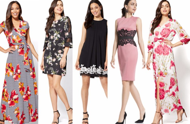 #newyorkandcompany, easter, dress options, easy easter dress options, easter dress options for different body types, new york and company, west town mall, west town mall style options, new york and company style,