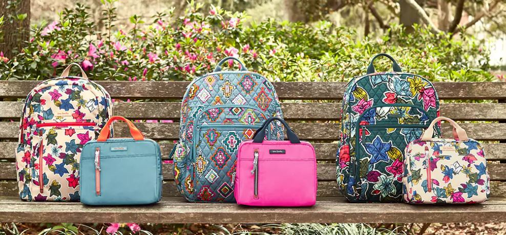 vera bradley bags, west town mall, summer bags, how to stay organized in the summer, stylishly organized