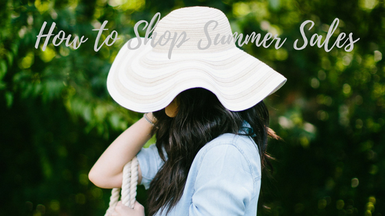 summer sales, summer style, what to wear this summer, how to shop a sale, summer sale shopping, knoxville fashion blogger