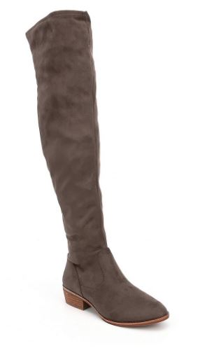 fall boot trends 2017, fall boot trends, fall fashion 2017, red booties, red ankle boots, knoxville fashion, knoxville fall fashion, dillards, west town mall, dillards shoes, over the knee boots, what to wear with over the knee boots