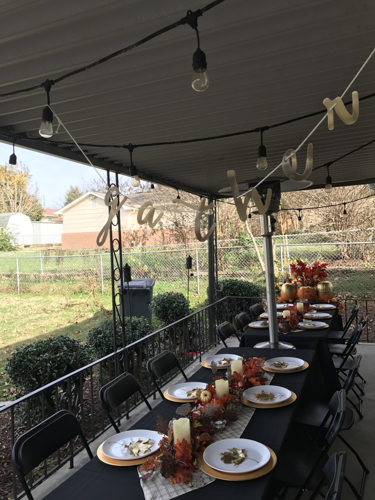 friendsgiving, thanksgiving decor, table setting, knoxville