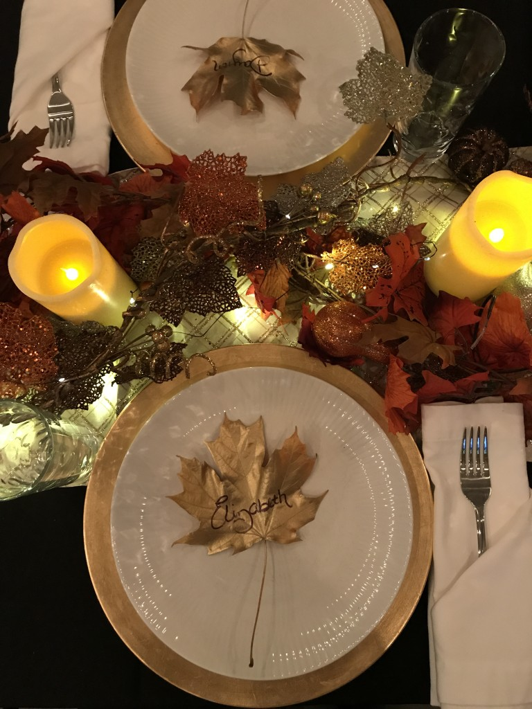 friendsgiving, table decor, fall table decor