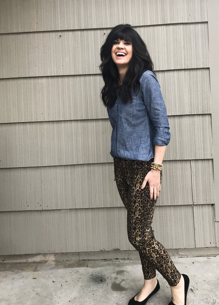 style help, how to tuck, the half tuck, leopard pants, the limited, gap at west town mall, west town mall style, knoxville style, knoxville fashion, ootd, mom blog, mom style, knoxville style blog
