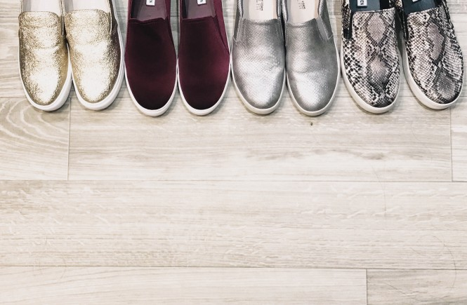 slip on sneakers, what to wear with slip on sneakers, comfortable shoes, dillards shoes, west town mall, how to wear slip on sneakers, style help, knoxville style blog