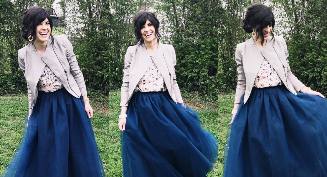 style help, help accessorizing, west town mall, how to style an outfit, help styling, outfit styling, knoxville fashion blogger, knoxville fashion, elizabeth ogle, tulle skirt, how to style a tulle skirt
