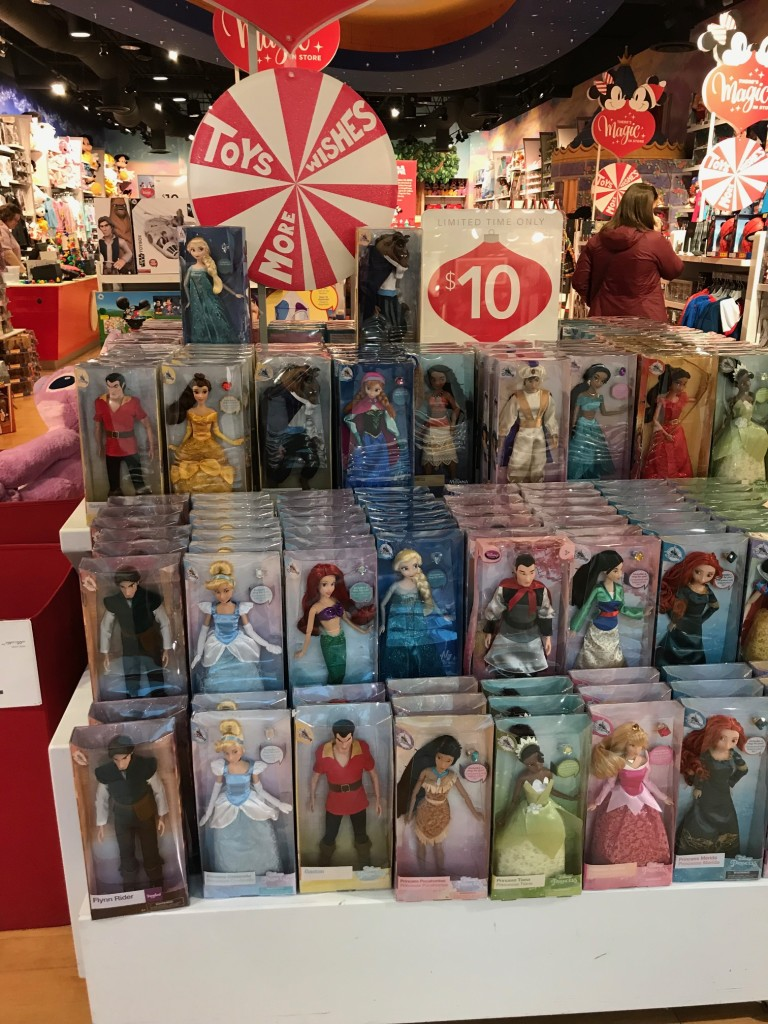 west town mall, disney store, gift ideas, knoxville shopping, what to get disney lover for Christmas, cheap gifts