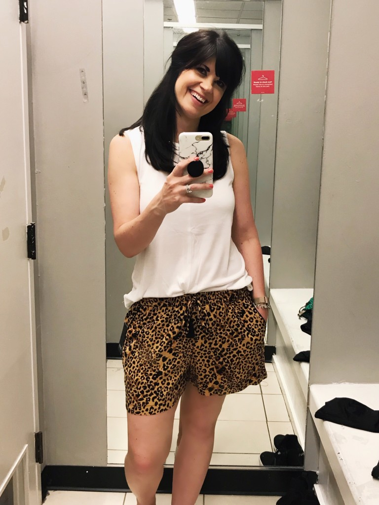 animal print shorts, jcp, jcpenney, west town mall, west town mall blog, west town mall fashion, knoxville fashion blog, animal print shorts, what to wear this summer, where to shop in west town mall, jcpenney fashion, jcp try on session