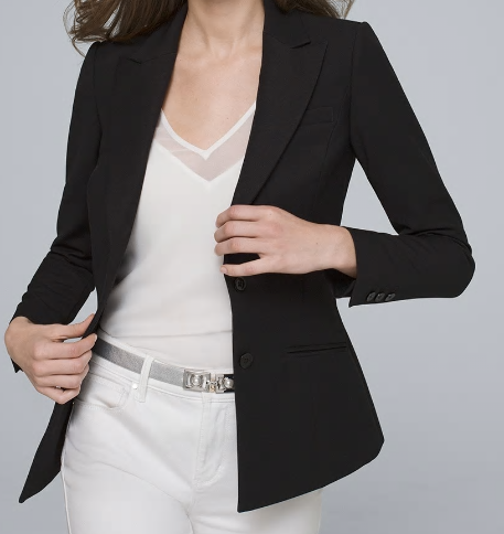 white house black market jacket, blazers, west town mall, knoxville fashion